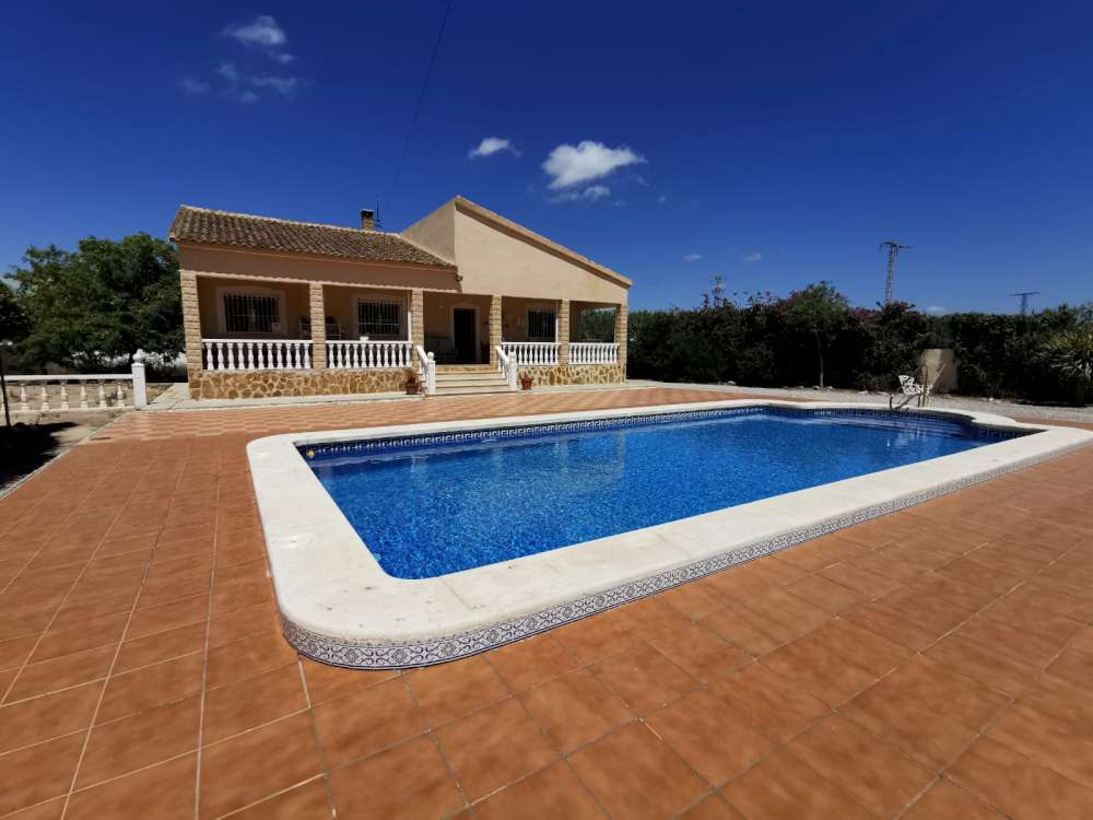 Ref:CGP JLM2841 Country Villa For Sale in Catral
