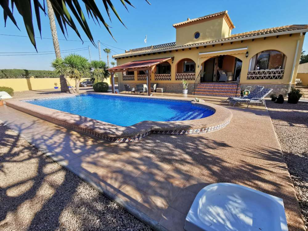 Ref:CGP JLM2883 Country Villa For Sale in Catral